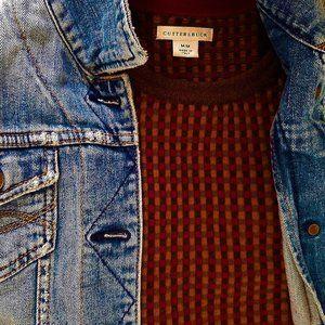 Cutter & Buck Sweater -100% Extra Fine Merino Wool